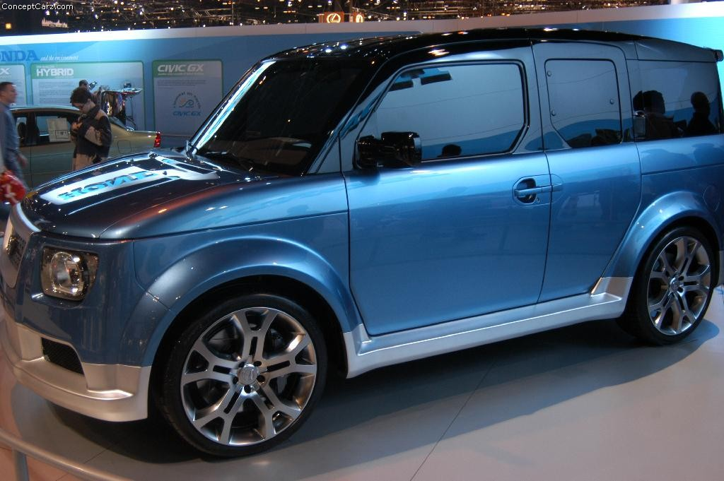 Honda Element Concept >> 2004 Honda Element Concept Image. Photo 8 of 10