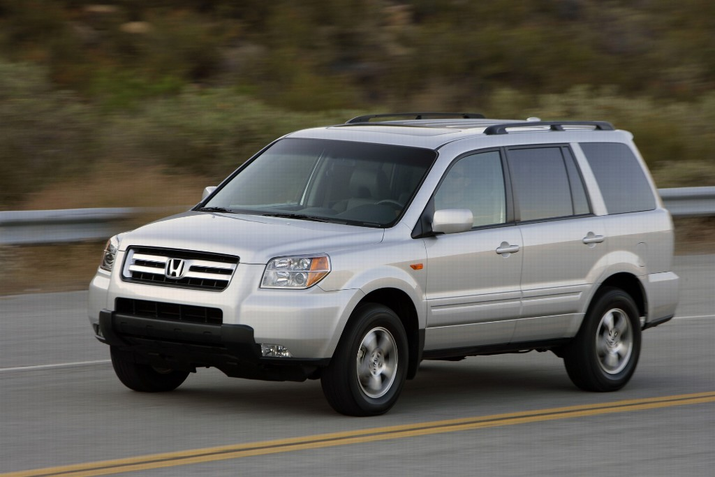 2007 honda pilot pictures history value research news. Black Bedroom Furniture Sets. Home Design Ideas