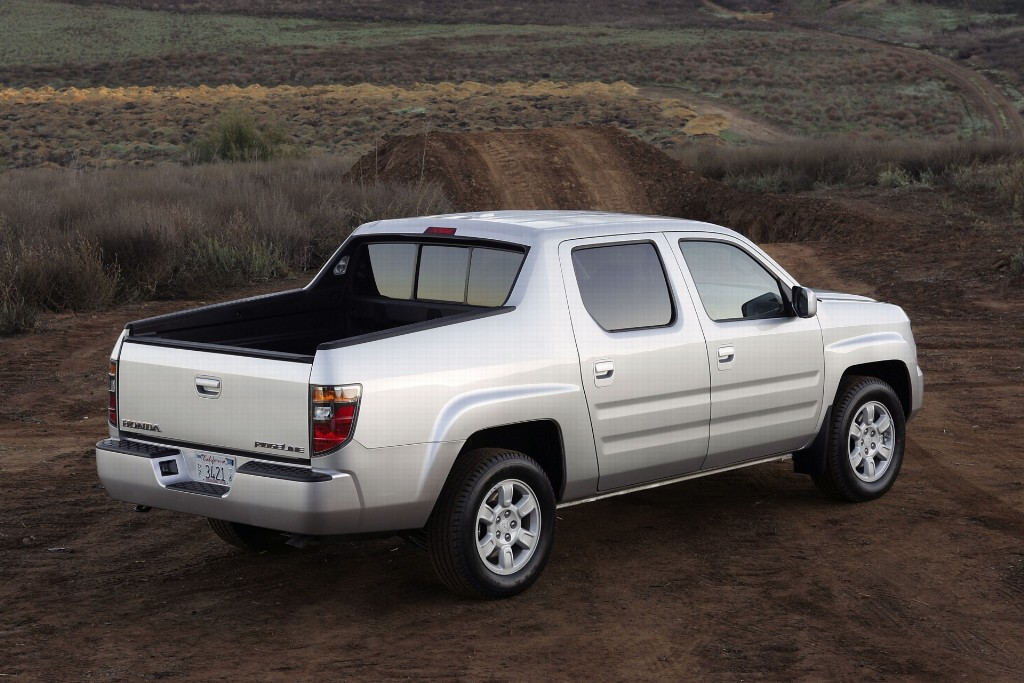 2007 honda ridgeline pictures history value research. Black Bedroom Furniture Sets. Home Design Ideas