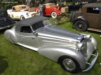1938 Horch 853 A Erdmann & Rossi Roadster image.