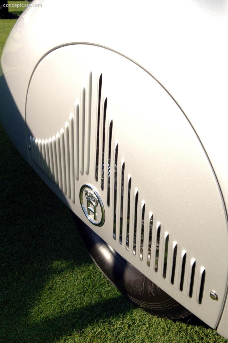 1938 Horch 853 A Erdmann & Rossi Roadster