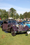 Chassis information for Horch 853 Phaeton