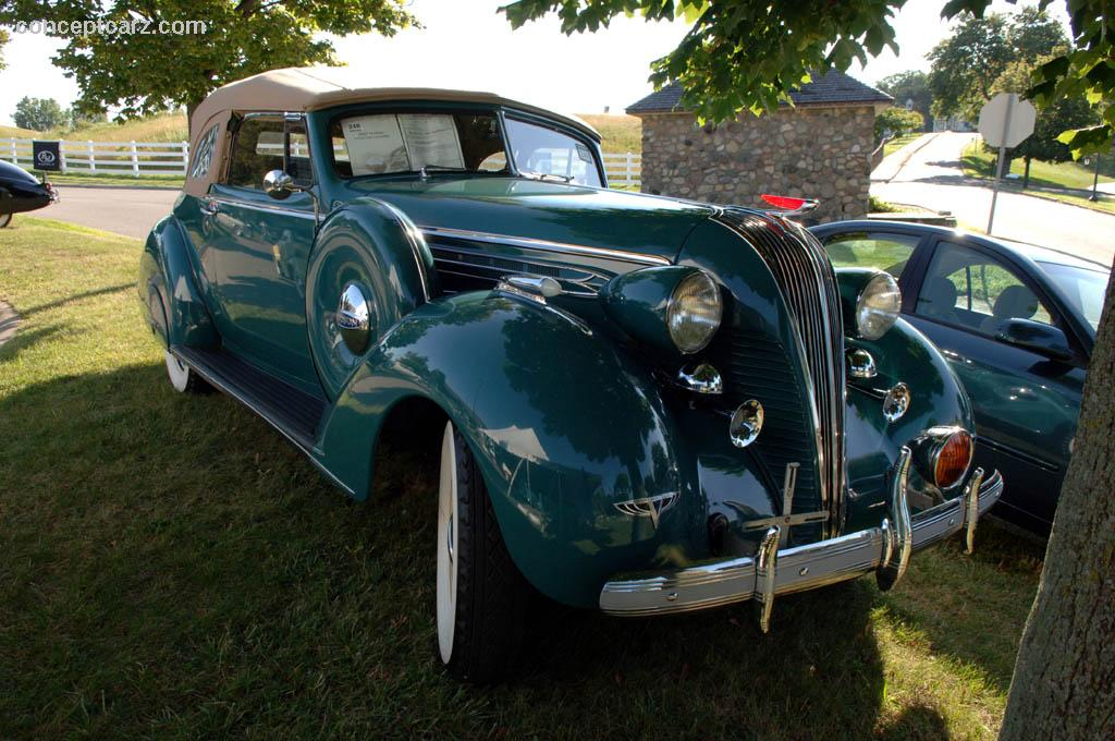 1937 Hudson Deluxe Eight Pictures History Value