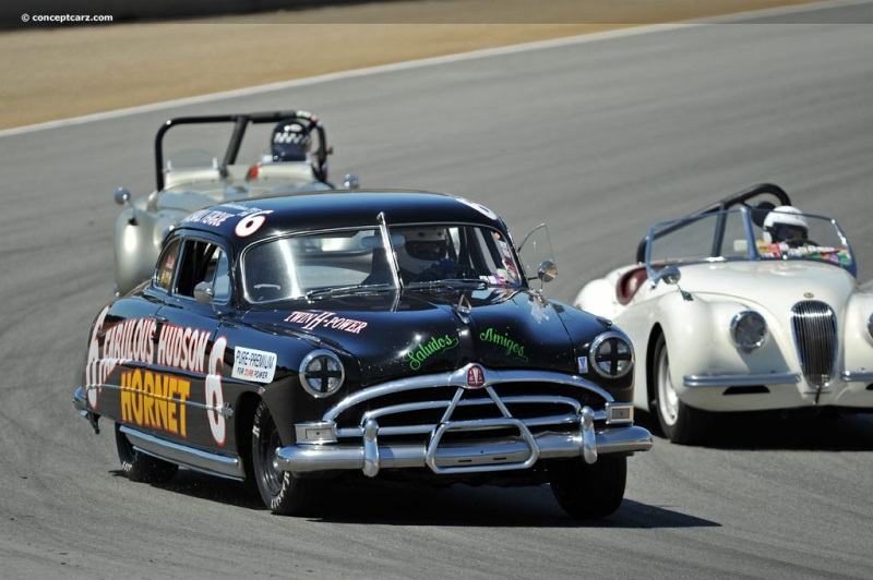 1951 Hudson Hornet Series 7A Image. Chassis number 7A129177