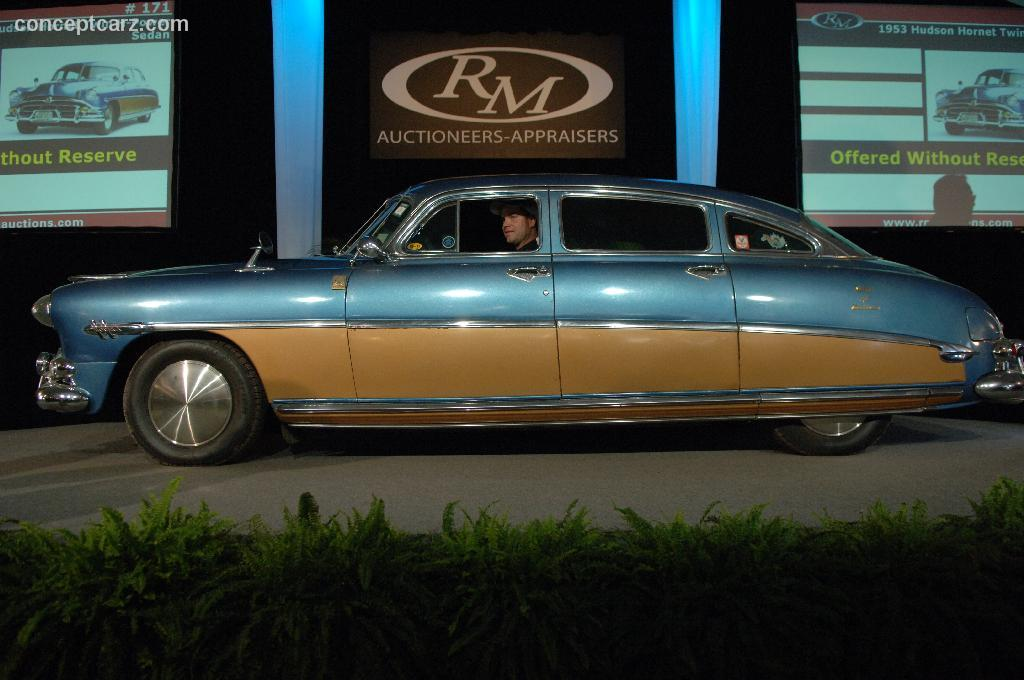 Coupe Vs Sedan >> Auction Results and Sales Data for 1953 Hudson Hornet