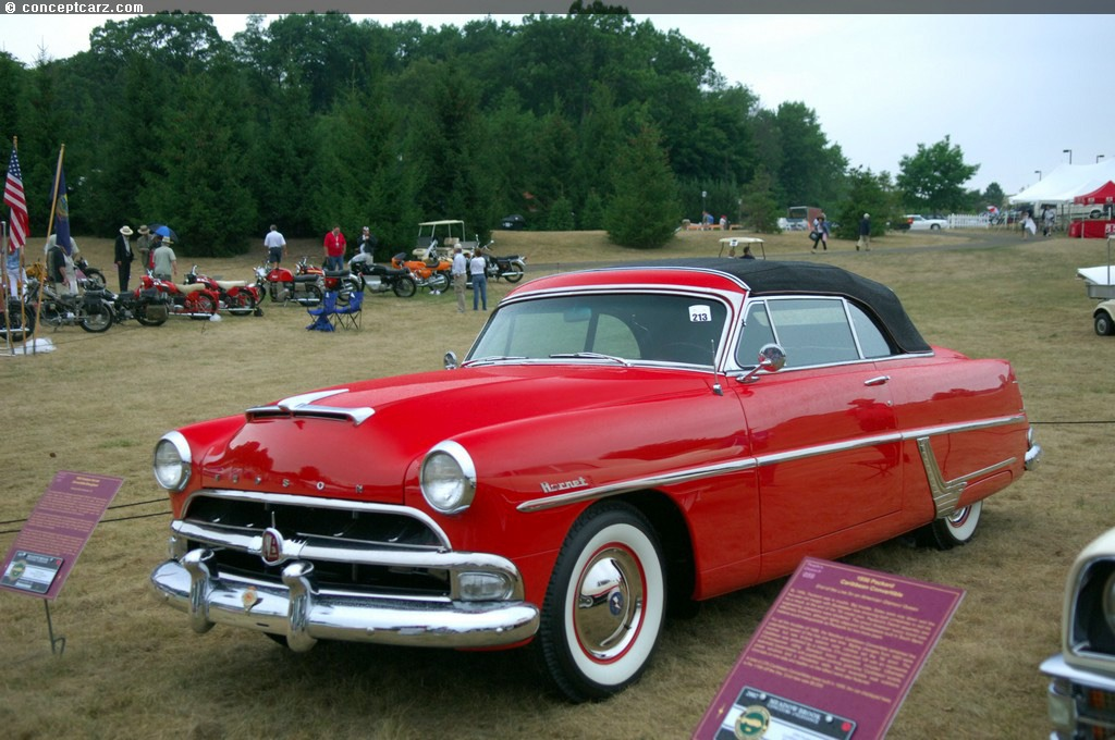 Hudson Auto Sales >> Auction results and sales data for 1954 Hudson Hornet ...