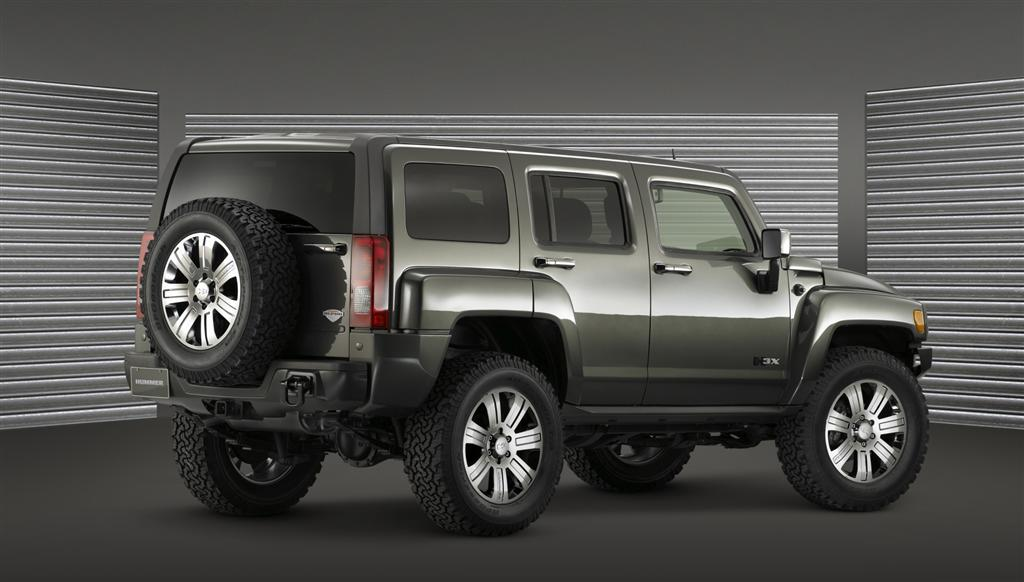 2009 Hummer H3 X Concept Image Photo 2 Of 2