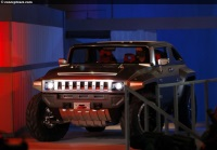 Popular 2008 Hummer HX Concept Wallpaper