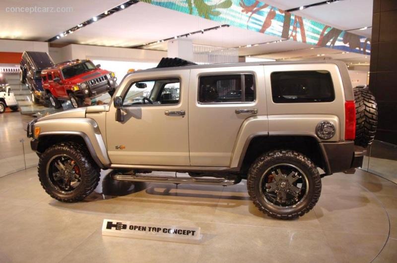 2006 Hummer H3 Open Top Conceptcarz Com