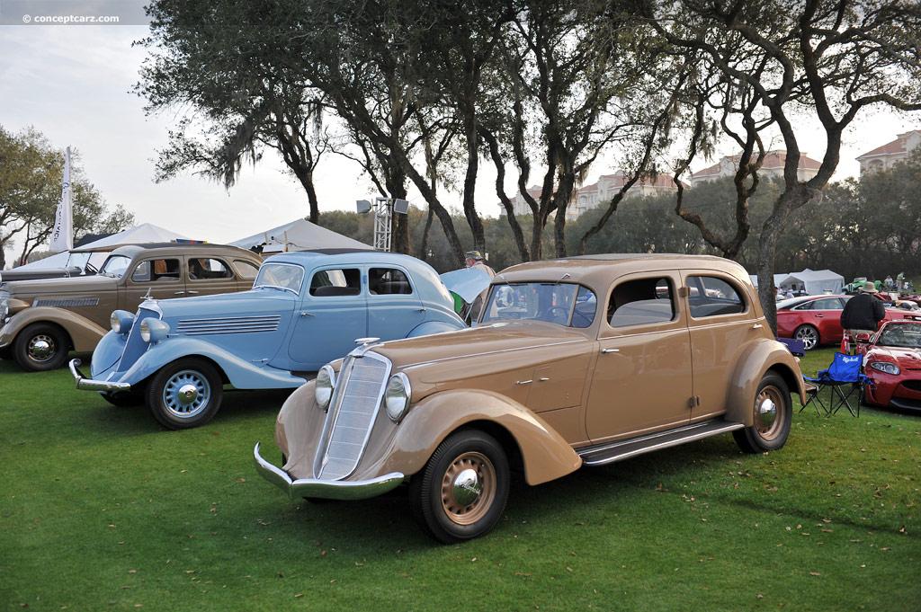 1935 Hupmobile 527 T Conceptcarz Com