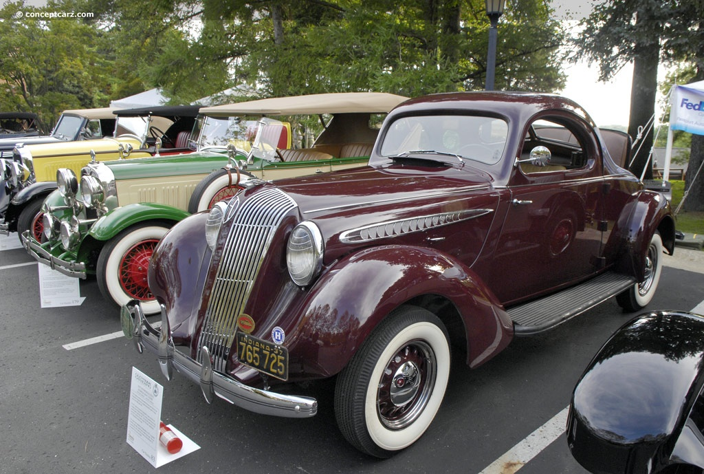 1937 Hupmobile 618 G Pictures History Value Research