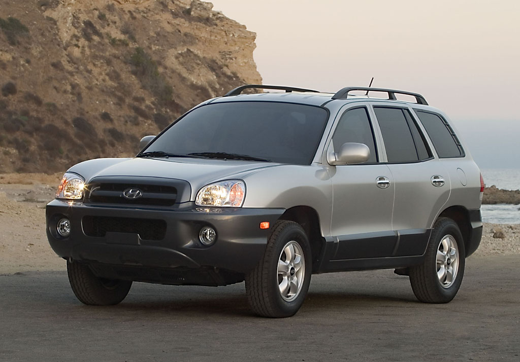 2005 hyundai santa fe history pictures value auction sales research and news. Black Bedroom Furniture Sets. Home Design Ideas