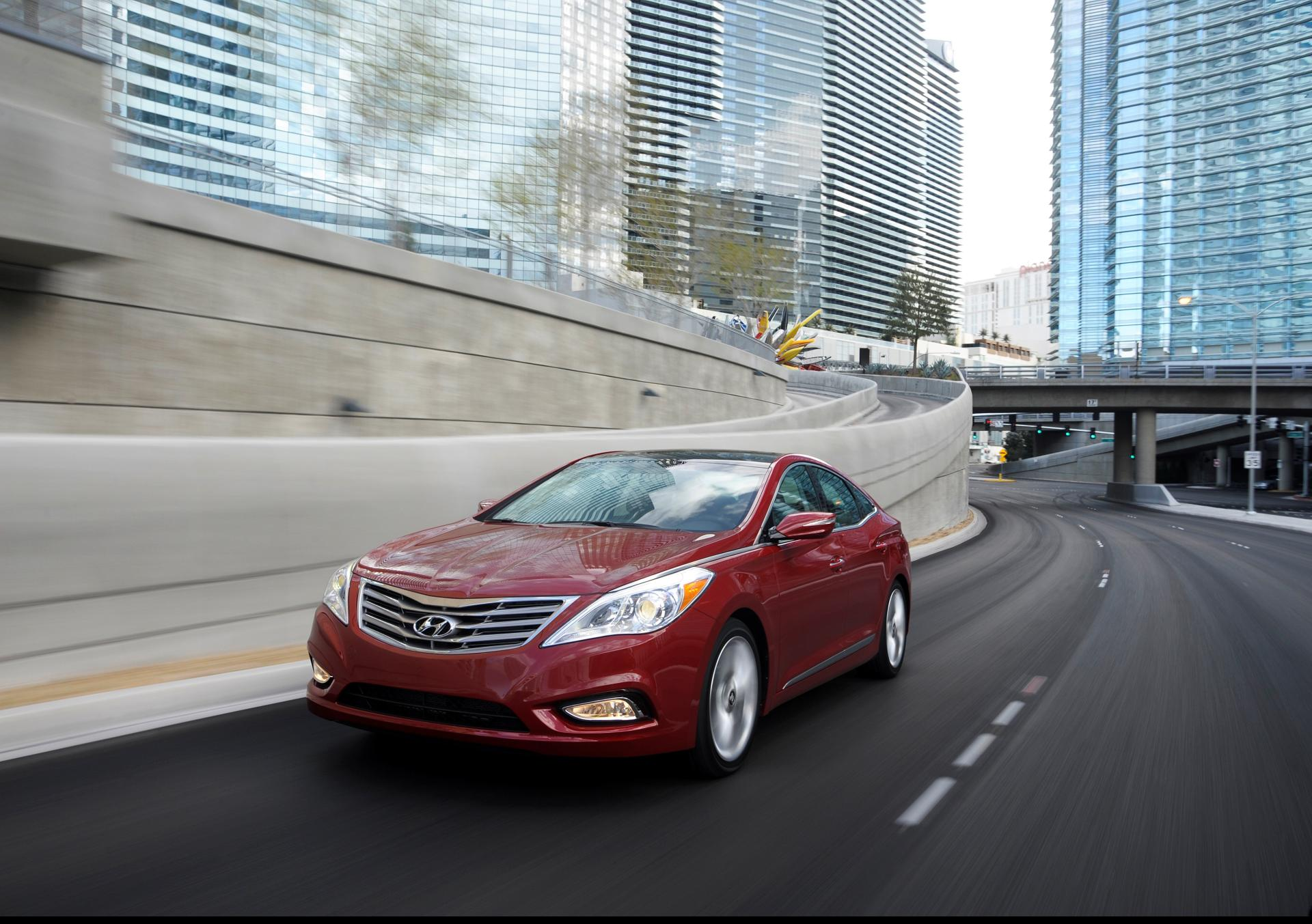 2014 Hyundai Azera technical and mechanical specifications
