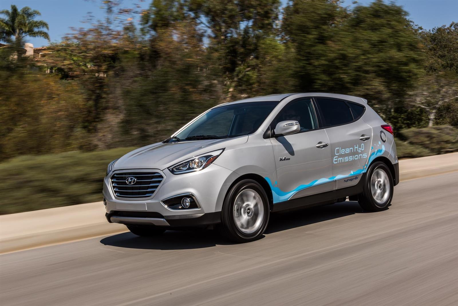 2016 Hyundai Tucson Fuel Cell Image. Photo 1 of 24