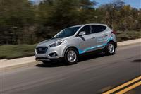 2017 Hyundai Tucson Fuel Cell