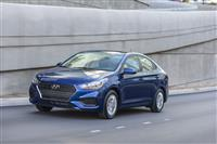 Hyundai Accent Monthly Vehicle Sales