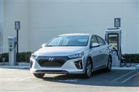 Hyundai Ioniq Monthly Vehicle Sales