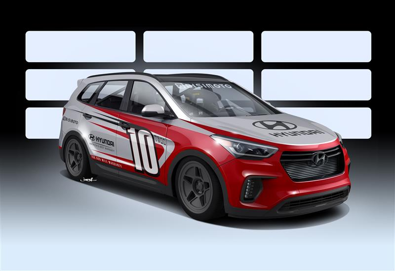 2017 Hyundai Bisimoto Santa Fast