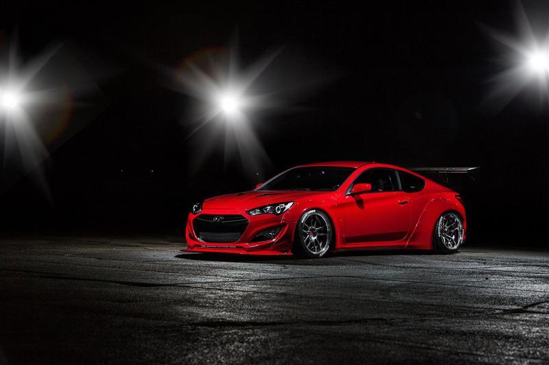 2015 Hyundai Blood Type Racing Genesis pictures and wallpaper