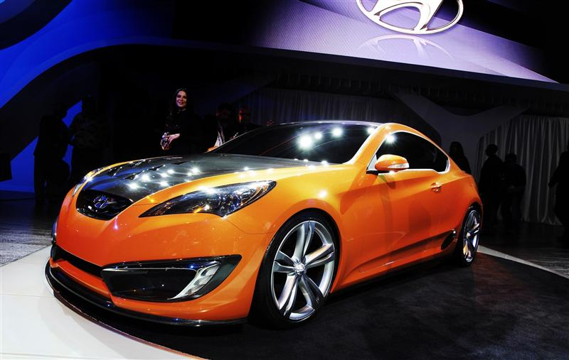 2007 Hyundai Genesis Coupe Concept Image Photo 4 Of 20