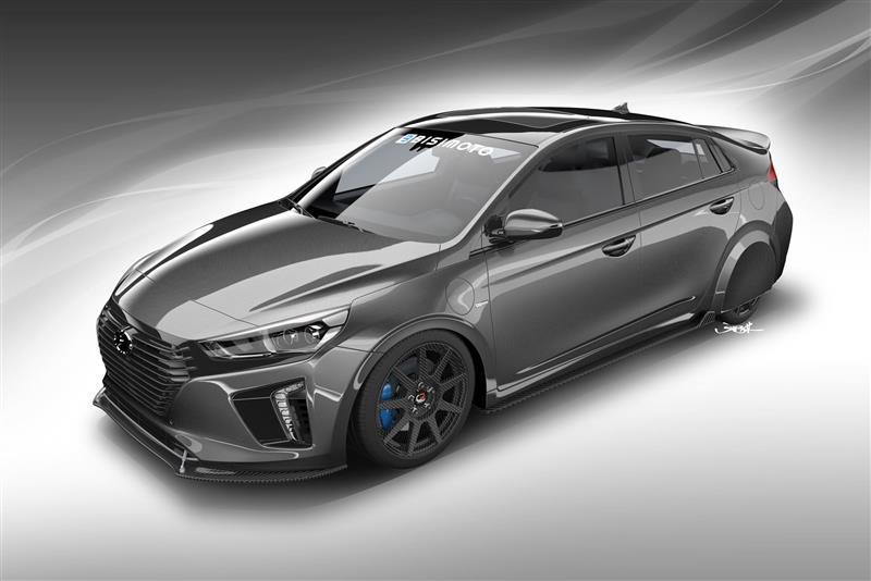 2017 Hyundai HyperEconiq Ioniq Concept
