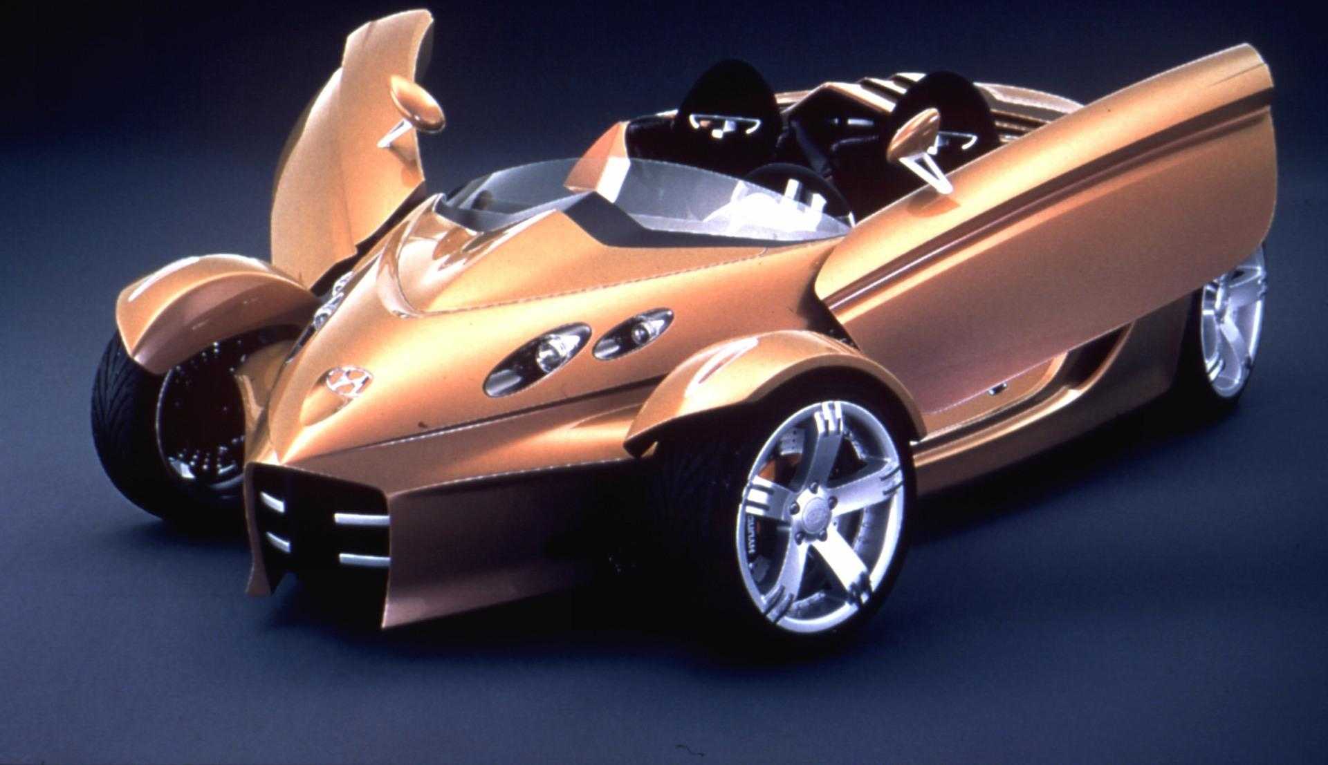 2000 Hyundai Neos Concept History Pictures Value