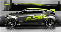 2012 Hyundai ARK Performance Veloster image.