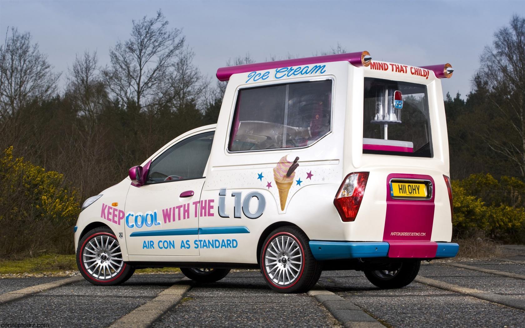 2011 Hyundai I10 Ice Cream Van Image Https Www Conceptcarz Com Images Hyundai Hyundai I10 Ice