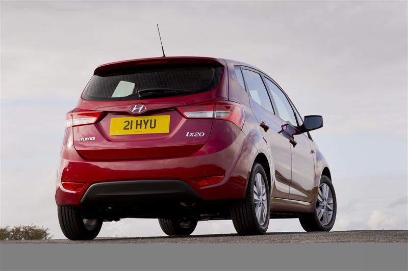 2011 Hyundai Ix20 Image Photo 24 Of 54