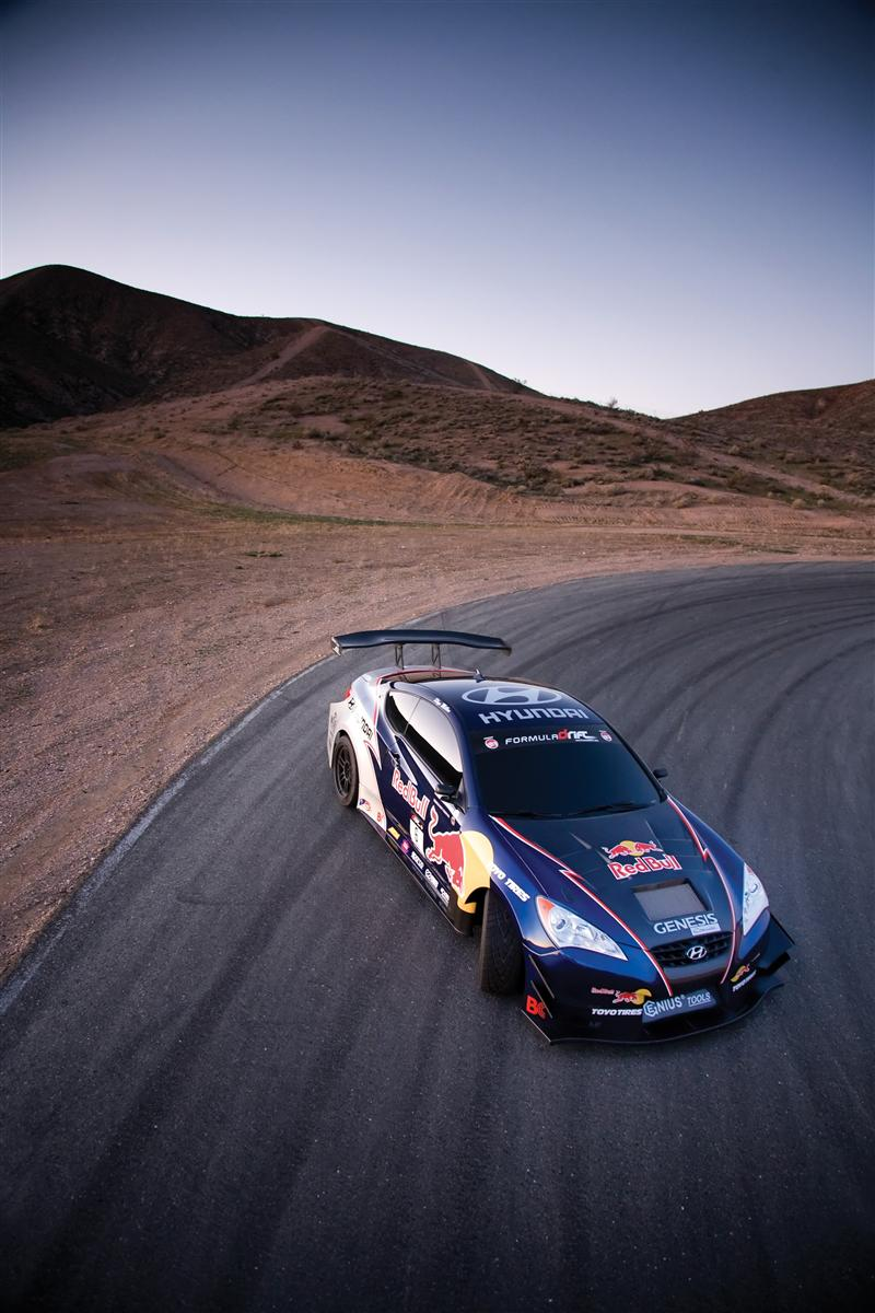 2009 Hyundai Genesis RHYS Millen Drift Coupe