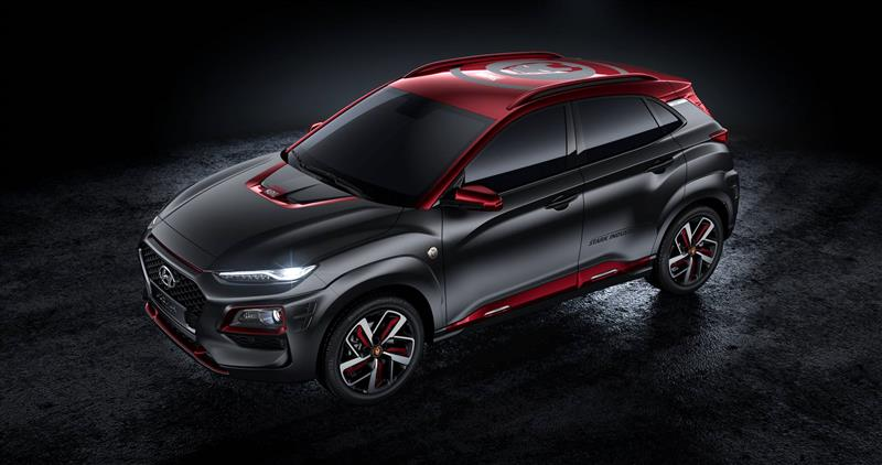 Hyundai Kona Iron Man Edition pictures and wallpaper