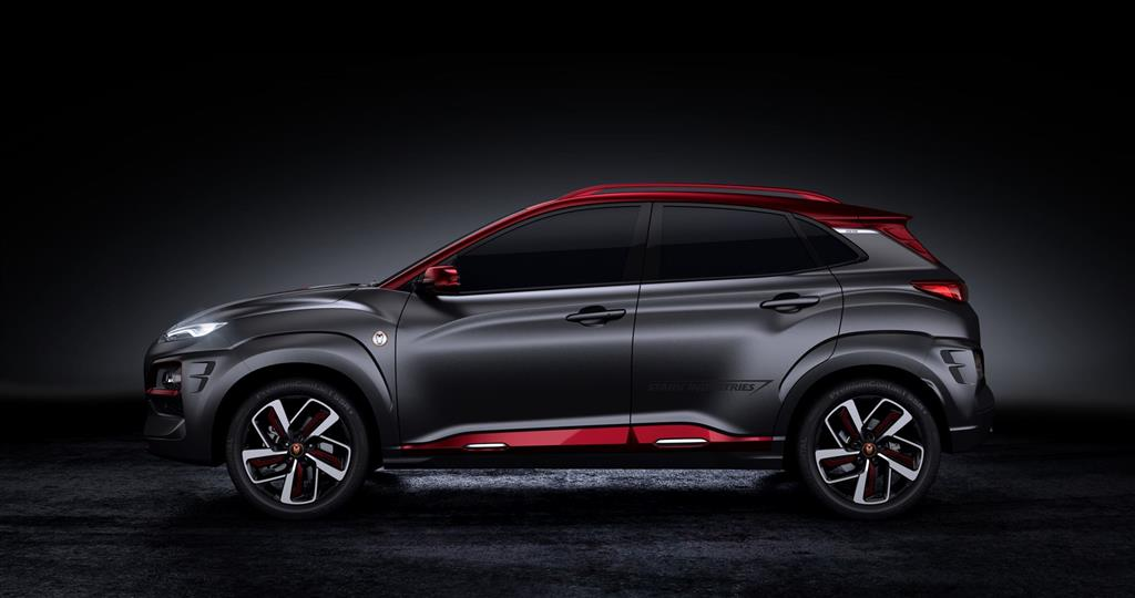 2018 hyundai kona iron man edition news and information. Black Bedroom Furniture Sets. Home Design Ideas
