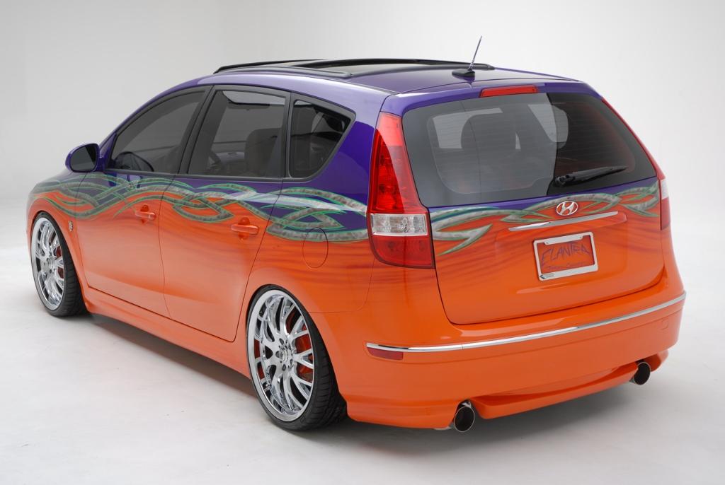 2007 Hyundai Elantra Touring Beach Cruiser Concept Pictures History Value Research News