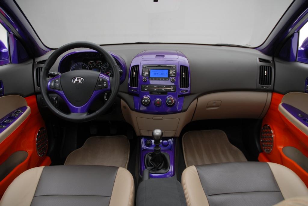 2007 Hyundai Elantra Touring Beach Cruiser Concept History