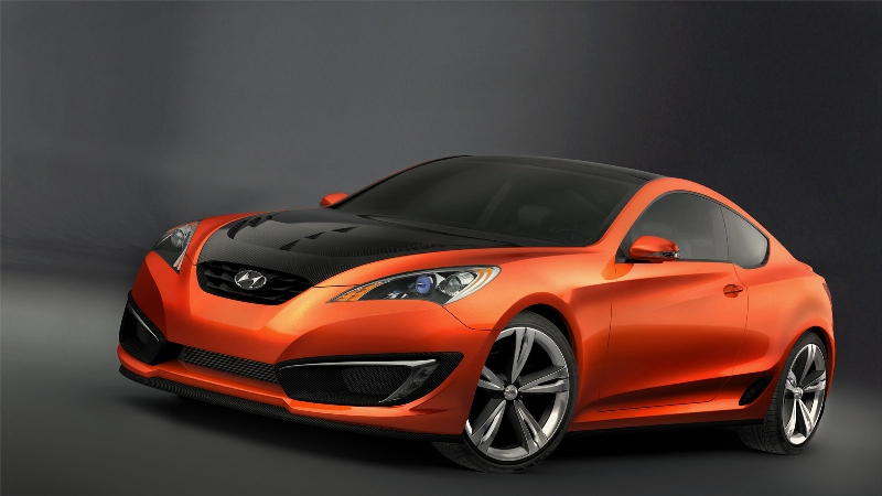 2007 Hyundai Genesis Coupe Concept Image. Photo 16 of 20