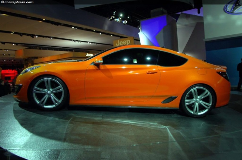 2007 Hyundai Genesis Coupe Concept Image Photo 11 Of 20