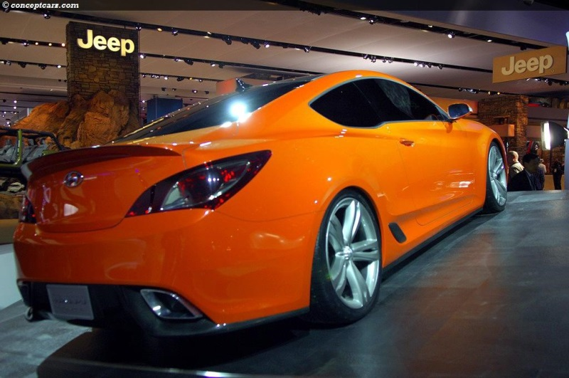 2007 Hyundai Genesis Coupe Concept Image Photo 5 Of 20