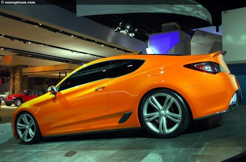 2007 Hyundai Genesis Coupe Concept Image Photo 8 Of 20