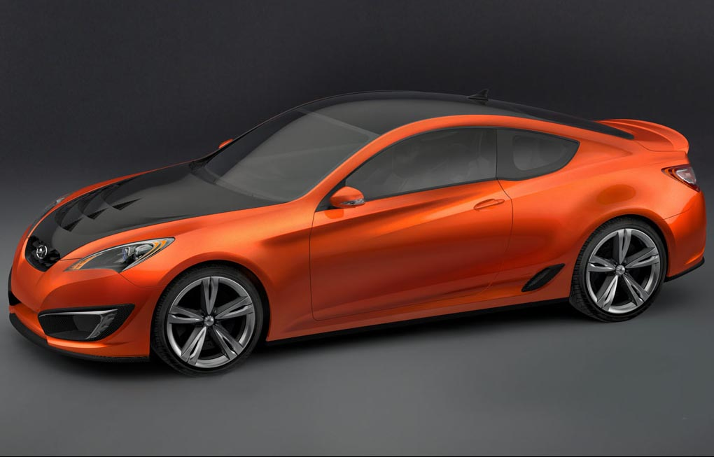 2007 Hyundai Genesis Coupe Concept Image Photo 18 Of 20