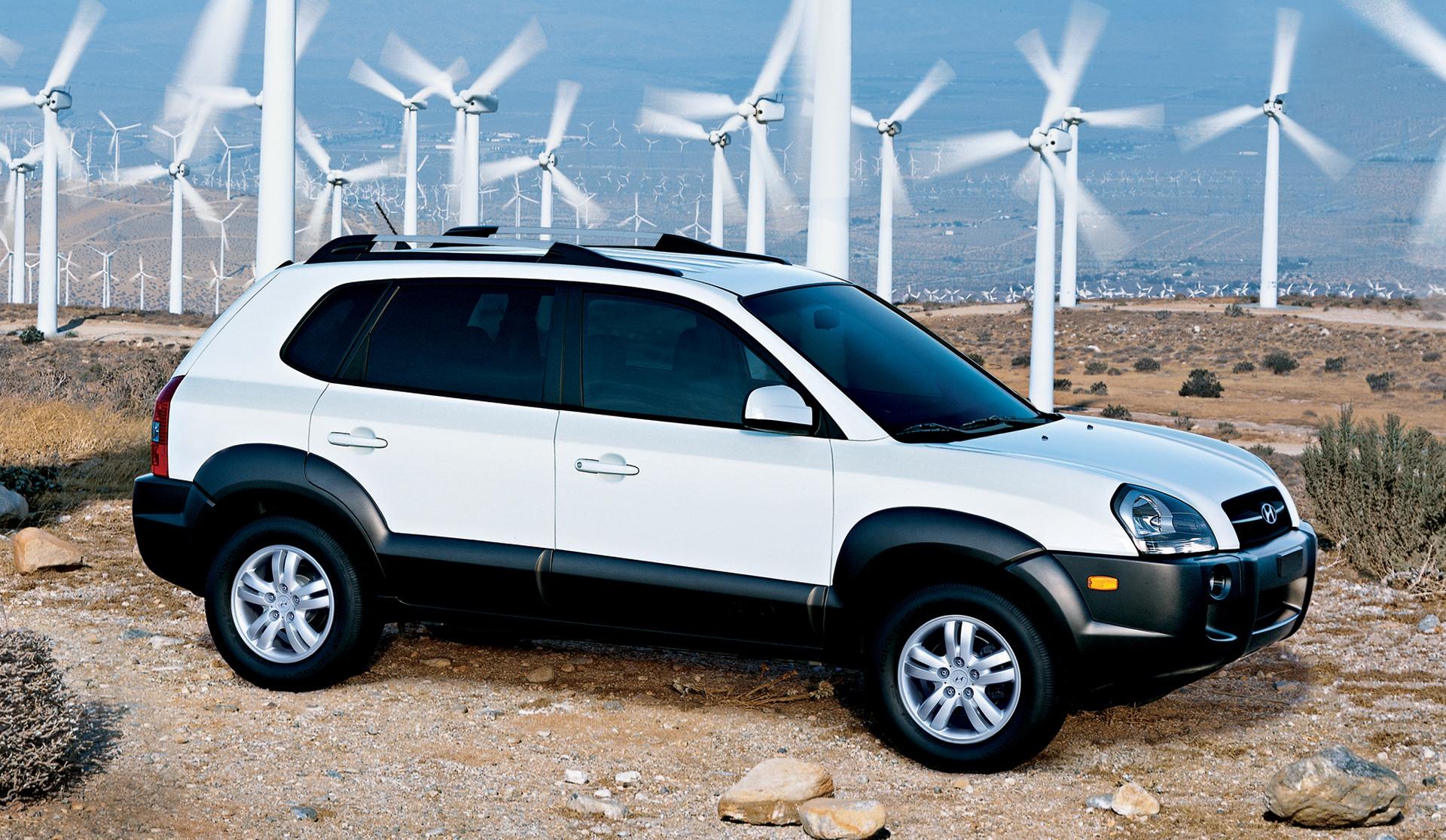 2008 Hyundai Tucson Image