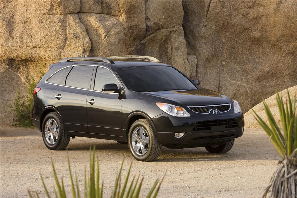 Hyundai Veracruz Image on 2007 Hyundai Veracruz