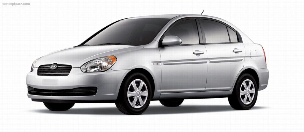 2007 hyundai accent gls pictures history value research. Black Bedroom Furniture Sets. Home Design Ideas