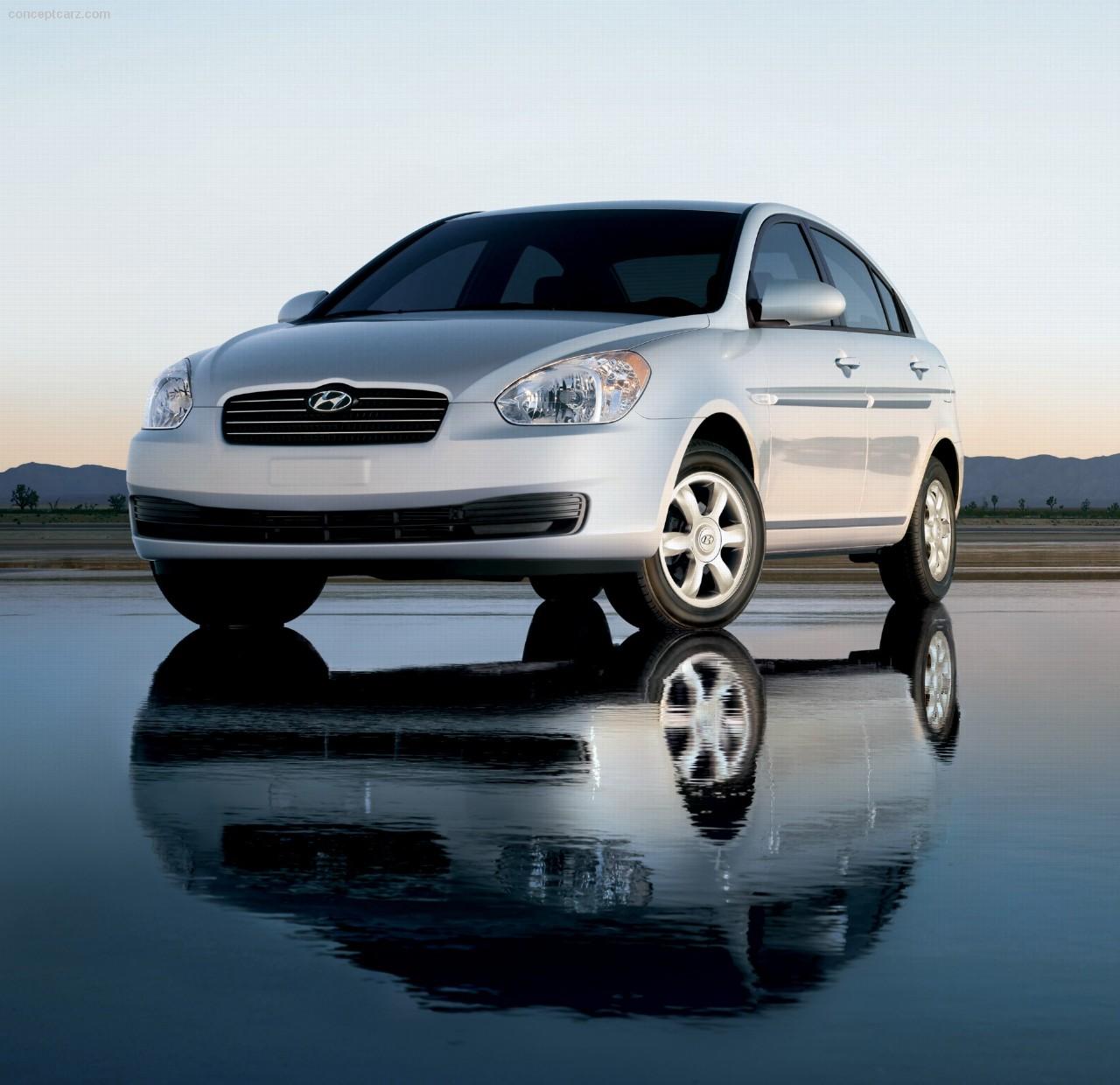 2007 Hyundai Accent GLS Desktop Wallpaper And High