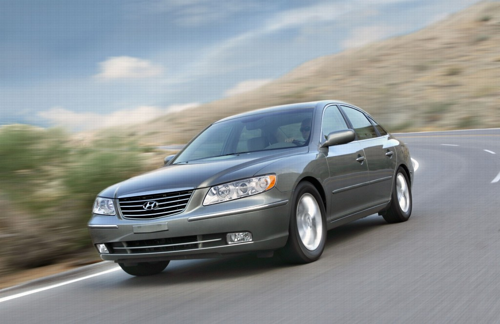 2007 Hyundai Azera Pictures History Value Research