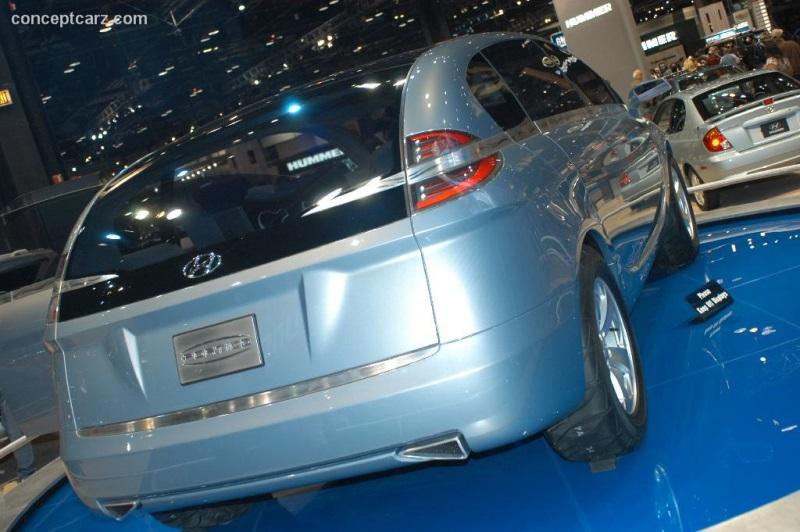 2006 Hyundai Portico Concept History Pictures Value Auction Sales