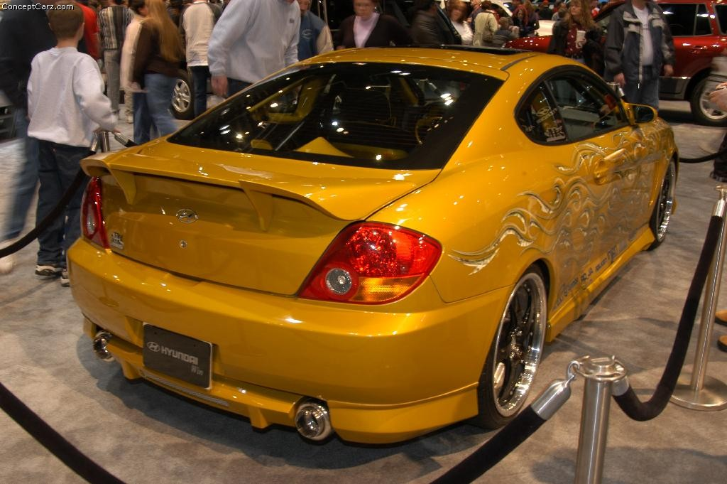 2003 Hyundai Tiburon Gt Ar Technical Specifications And