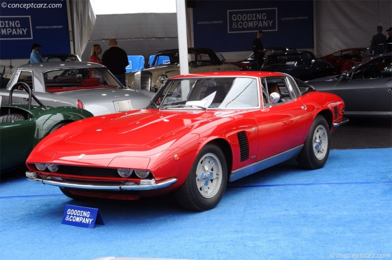 1972 ISO Grifo Series II Image  Chassis number GL220369  Photo 5 of 6