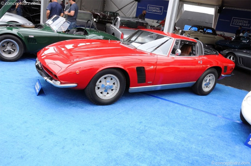 Chassis GL220369 1972 ISO Grifo Series II chassis information