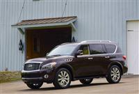 Infiniti QX Monthly Vehicle Sales