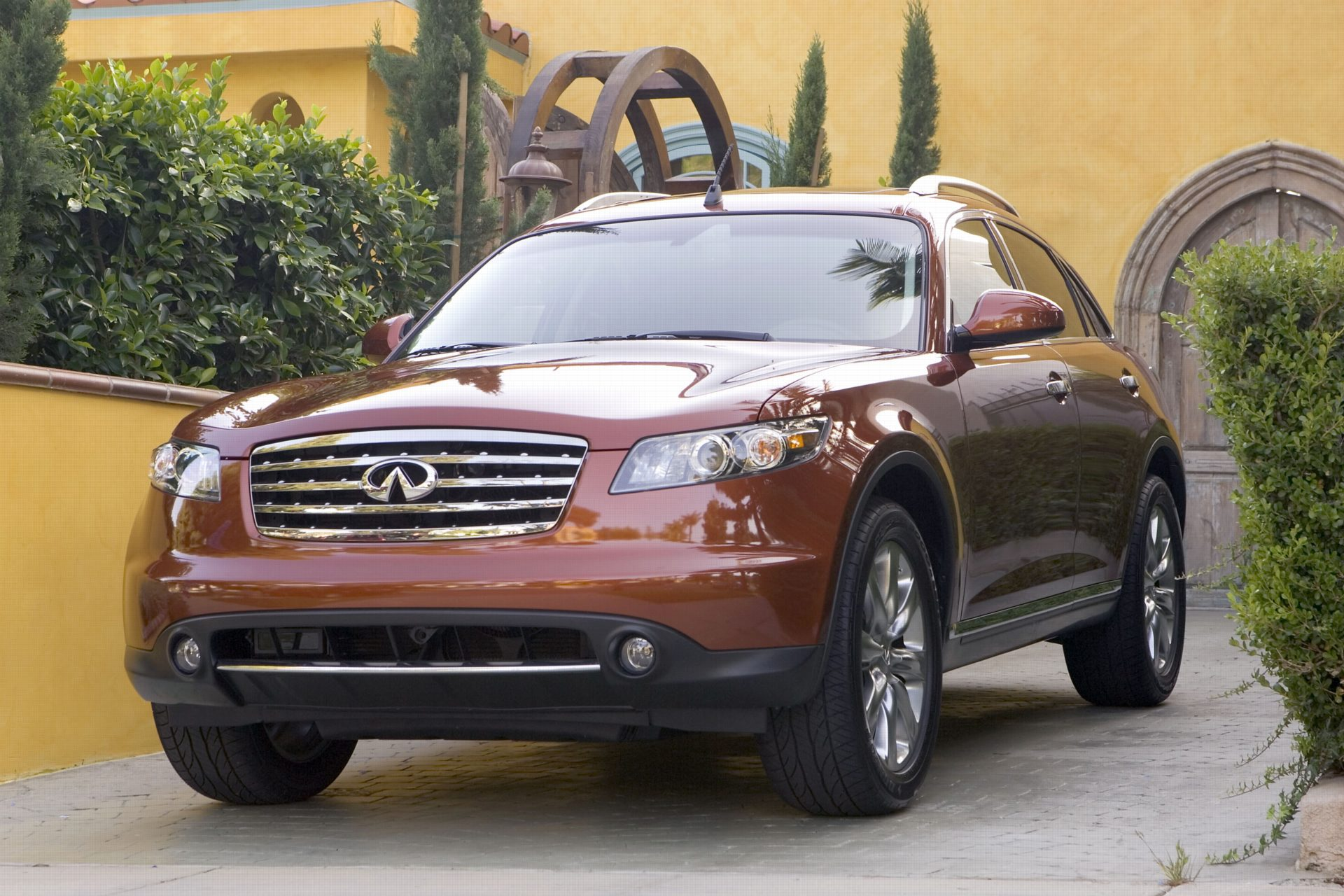 2007 Infiniti FX History, Pictures, Value, Auction Sales, Research and News